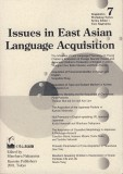 Issues in East Asian Language Acquisition