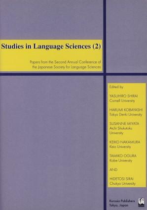 Studies in Language Sciences (2)