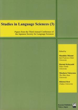Studies in Language Sciences (3)