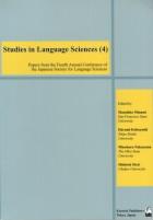 Studies in Language Sciences (4)