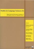 Studies in Language Sciences (5)