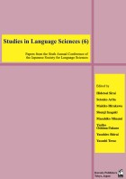 Studies in Language Sciences (6)