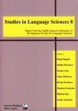 Studies in Language Sciences (8)